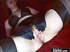 Mistress shares her sub with her girlfriend