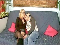 Italian Mom And Boy (Tina Monti)