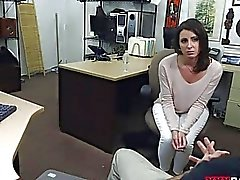 Customers wife pounded by nasty pawn guy