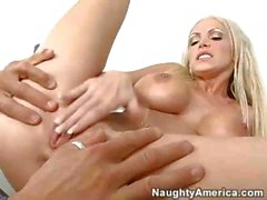 Nikki Benz - Blowjob And Muff Dive
