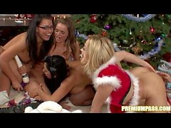 Audrey Bitoni - Gift Exchange By The Christmas Tree!