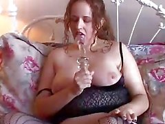 Chubby honey is a squirter