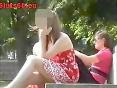 Secret Camera Films Upskirt