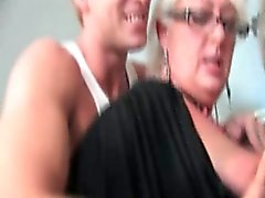 Guy gets horny getting his hard cock