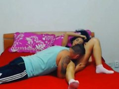 Passionate Couple Give Each Other Oral Pleasure