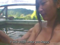 Subtitles Japanese lesbians outdoor hot springs