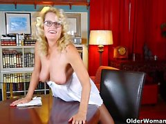 American moms in pantyhose part 10