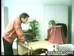 Pervert Chick Fancying Bondage Spanking