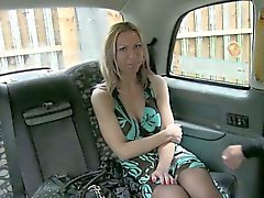 Big boobs amateur stuffed by perv driver in the backseat
