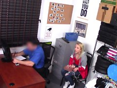 ShopLyfter - Security Guard Bones Blonde Pretty Girl