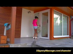 slippery nuru massage for pool cleaner