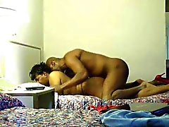 Hidden Cam Ebony BBW with BBC