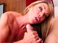 Big tits milf hardcore with facial