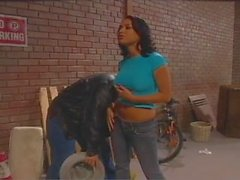 Eva Angelina banging in the Alley