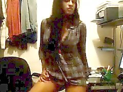 Indian Cutie Dancing In Her Room At Home