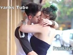 Best Kissing Prank Compilation 2016 - PRANKINVASION