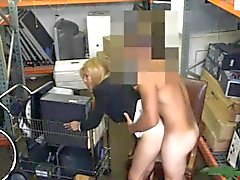 Blonde milf smashed by pawn man to earn a chunk of money