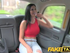 Fake Taxi Hot sexy big tits and tight jeans