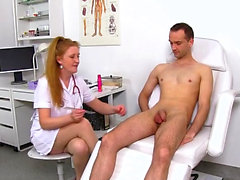 Hot mature prostate and massage