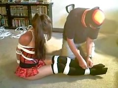Sasha Fae tied and gagged Part 2