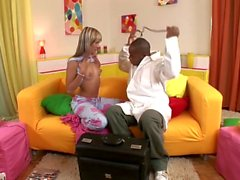 Blondes look good on blacks - Scene 6 - DDF Productions