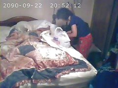 Hidden cam catches mom first time