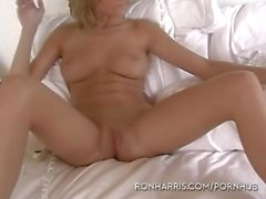 Romantic lesbian pussy licking