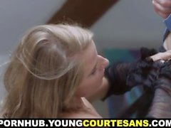 Young Courtesans - First courtesan session