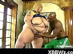 Hot BBW Fondling And Hardcore