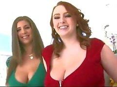 Grande naturelles Boobs - roux et de brunette à ! ! !