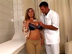 Gorgeous milf banged at doctor's office