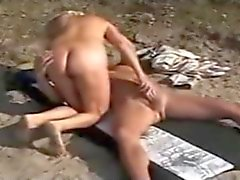 mature wife playing with stranger at the lake Binsfeld 2010