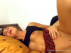 Sexy amateur Veronica is back again for more anal