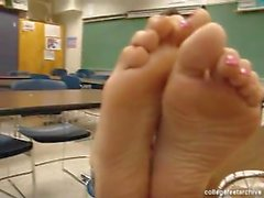 College Girl's Feet POV