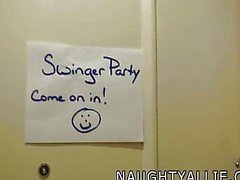 Join me at a swinger party