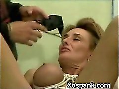 Extreme Bondage Slut Spanked Hot