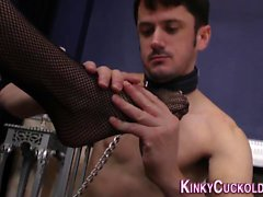 Kinky domina sucking bbc