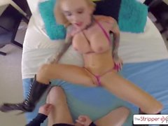 The Stripper Experience Hot MILF Sarah Jessie is pounded by a monster cock