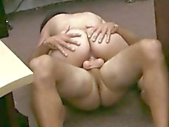 Big boobs Cuban chick fucked in a pawnshop for her TV