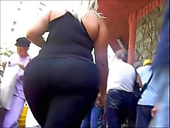 Candid Big Asses Selection - slow motion 3