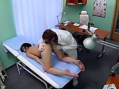FakeHospital Patient likes it from behind with her doctor
