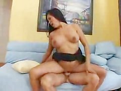 Asian milf fucking her son's best friend
