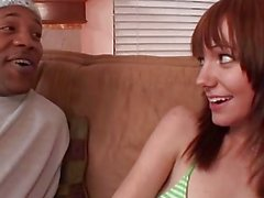 BrokenTeens - Beaue Marie Takes on Shorty's Monster Cock