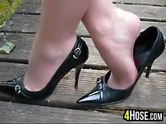 Hot Feet In High Heels