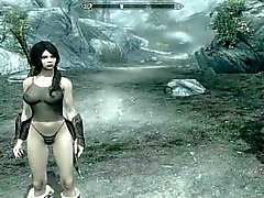 2 bitchs in Skyrim Hentai