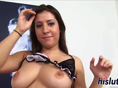 Alexia washes a car and gets fucked