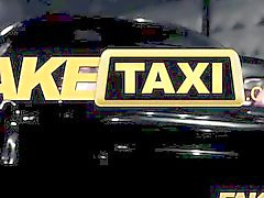 FakeTaxi - Sexy black chick makes revenge sex