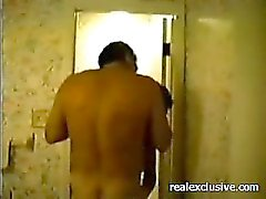 Mature Swingers DP threesome in hotel