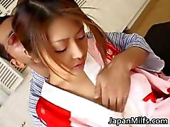 Alice Hoshi Asian babe gets facial part4