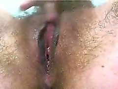 Hairy Pussy Fingering Close Up